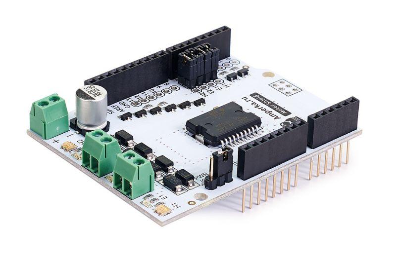 Контроллеры и модули - Motor Shield (2 канала, 2 А)