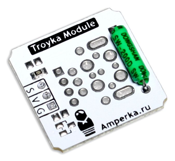 Контроллеры и модули - Датчик наклона (Troyka-модуль)