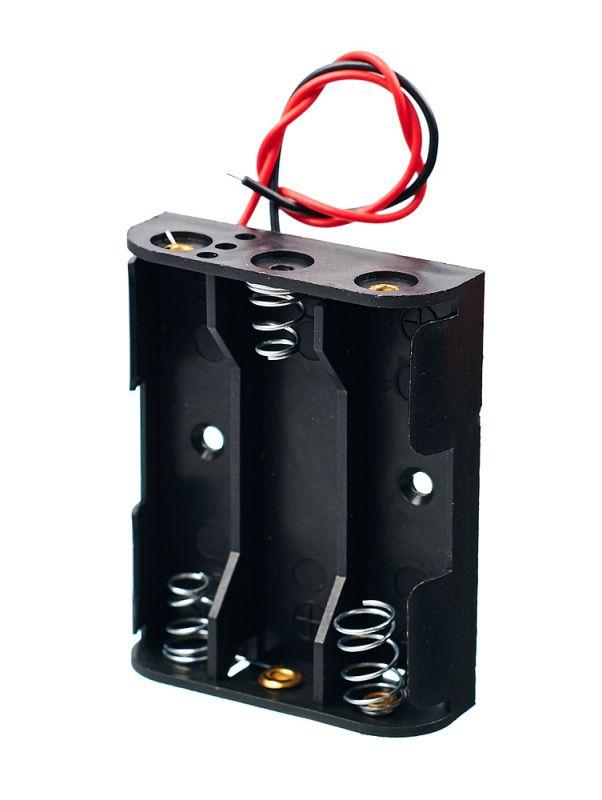 Блоки и элементы питания - Батарейный отсек 3 AA