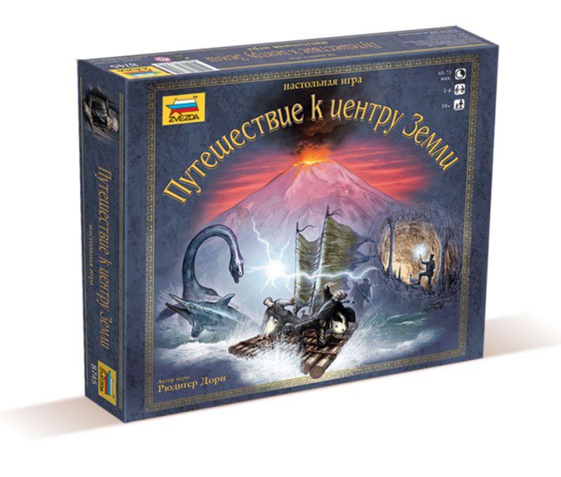 Настольные игры - Путешествие к центру Земли